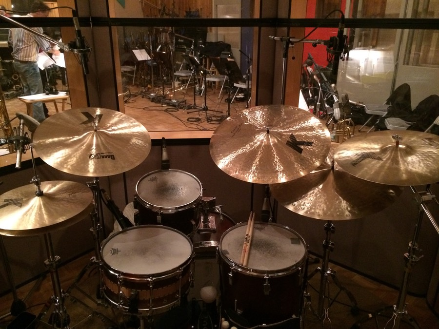 my setup for recording jack cooper 39 s mists charles ives for jazz orchestra vince cherico. Black Bedroom Furniture Sets. Home Design Ideas