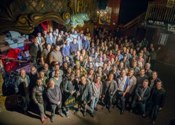 NYC AR Hang Cutting Room Group Shot 2 2014